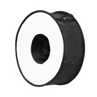 AccPro Foldable Speedlight Softbox - Ring Flash Diffuser 45cm  [LS-35]